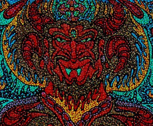 En la barra del diablo…